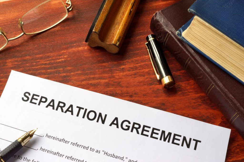 separation agreement attorney in annapolis